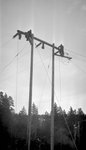 Power Pole, Two Men