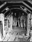 Miners at Mine Entrance