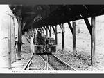 Coal train, Mine No. 5, Roslyn, Washington