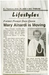 Mary Ainardi Interview by Mary Ainardi