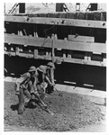 Workers Pouring Cement, Grand Coulee Dam Area