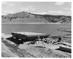 Barge near Grand Coulee Dam