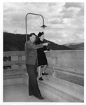 Guide at Grand Coulee Dam