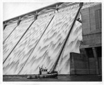 Barge at Grand Coulee Dam