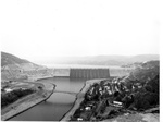 View of Grand Coulee Dam from Crown Point