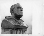 Bust of Franklin D. Roosevelt at Grand Coulee Dam