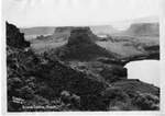 View of Grand Coulee, Washington