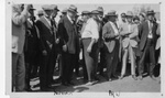President Hoover Meets with the Public