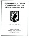 National League of Families of American Prisoners and Missing in Southeast Asia 43rd Annual Meeting