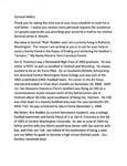 Letter to General Mattis