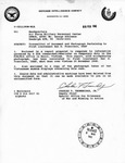 Transmittal of Document and Photograph Pertaining to First Lietenant San D. Francisco, USAF