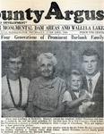 Newspaper Clipping from Wallula County Argus by San Dewayne Francisco