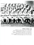 Football Team Photo from Central Washington State College Yearbook