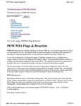POW/MIA Flags and Bracelets