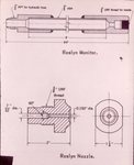 Diagram of Water Monitor used at the Northwestern Improvement Company (NWI) #9 Mine at Roslyn, Washington