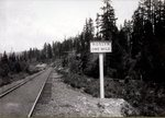 Railroad tracks, Roslyn, Washington