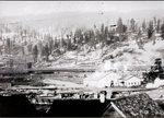 Northwestern Improvement Company (NWI) #4 mine shaft, Roslyn, Washington