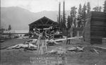 Roslyn Lumber Co. at Lake Cle Elum, Washington