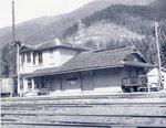 Railroad depot at Lester, Washington
