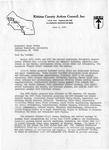 Letter to CWSC President James Brooks from James Burnham, page 1