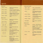 Women's Conference Program, page 2