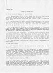 Women's Center: Summary of Activities, page 1