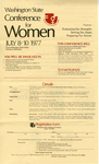 Registration Form for Participation in the Washington State Conference for Women on July 8-10, 1977, Front Page