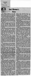 Newspaper Clippings: One Woman's View (Washington State Conference For Women)