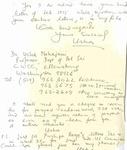 Usha Mahajani Letter #2, page 2
