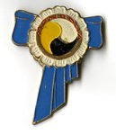 International Women's Year Berlin Commemorative Pin [Mongolia]