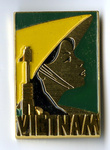 International Women's Year Berlin Commemorative Pin [Vietnam]