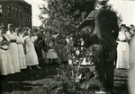 Washington State Normal School, tree planting and Ivy Day by Central Washington University